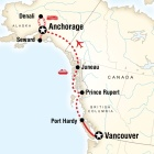 Vancouver & Alaska by Ferry & Rail