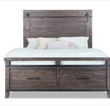 Queen Sized Montana Storage Bed.