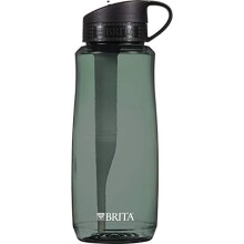 Brita - Hard Sided Water Filter Bottle Black