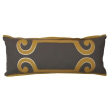 UC Davis Shopping Harlow Scroll Pillow - Frost Grey for UC Davis Students in Davis, CA