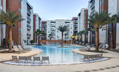 Apartments Near UCF 1 Bedroom in a 2X2 Unit at Plaza on University for University of Central Florida Students in Orlando, FL