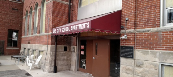 Gas City School Apartments - over 55 yrs of age