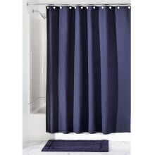 Hotel Shower Curtain - Navy
