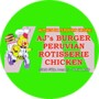 AJ's Burger and Peruvian Rotisserie Chicken