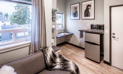 Apartments Near UW Urban studios 2 blocks from UW! for University of Washington Students in Seattle, WA