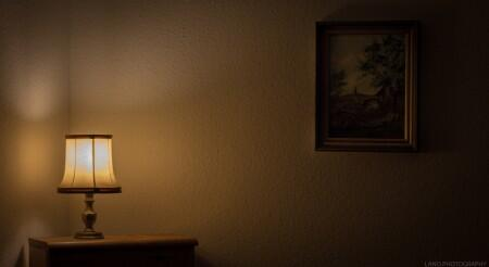 lamp, lighting, table, wall, art