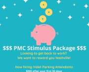 Valet Parking Attendant - STIMULUS Package